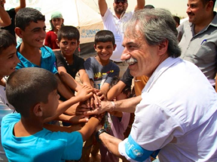 Il medico Marzio Babille in Iraq