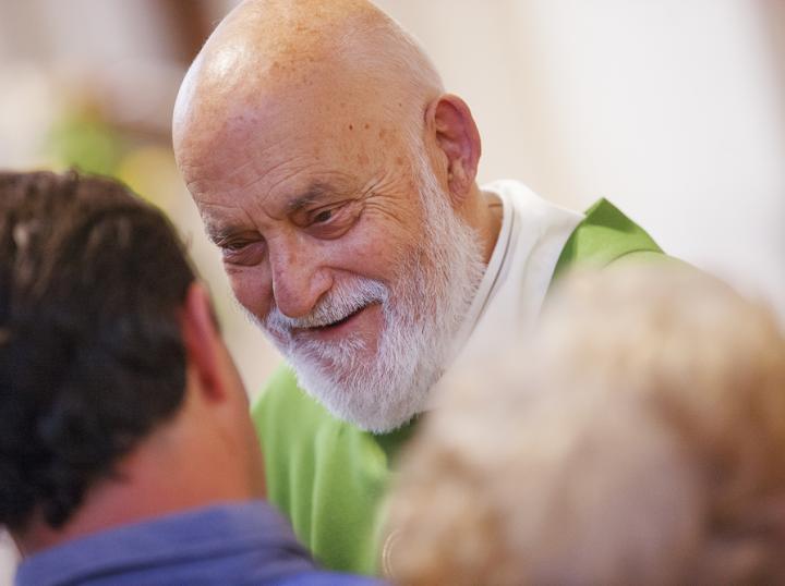 Don Mario Vatta fondatore della Comunità San Martino in Campo